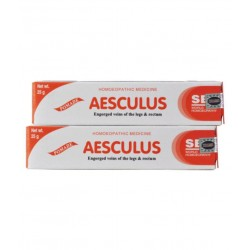 SBL Aesculus Ointment 25gm Pack of 3