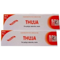 SBL Thuja Ointment 25gm Pack Of 3