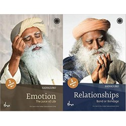 Emotion and Relationships Paperback Book By Sadhguru