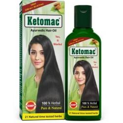 Ketomac Ayurvedic Hair Oil  (130 ml)