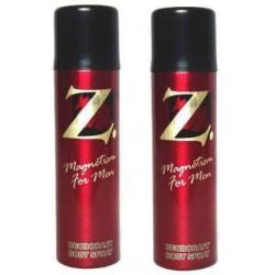Z MAGNETISM FOR MEN Deodorant Spray - For Men  150ml (Pack of 2)