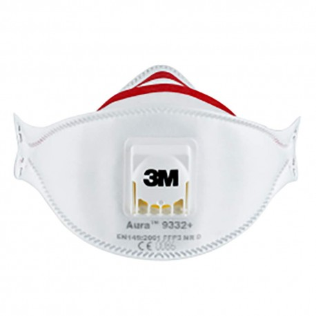 3M 9332 N99 Pollution Mask Aura (White)