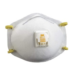 3M 8511 N95 Particulate Respirator with Valve Pack of 1