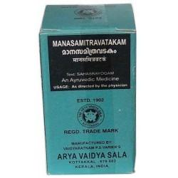 Arya Vaidya Sala Kottakkal Ayurvedic Manasamithra Vatakam -100 Tablets