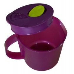 Tupperware Crystal Wave Pitcher Microwave Cookware, 1L Colour May Very