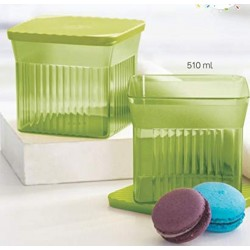 Tupperware Family Mate Square Container/Jar to Store - Set of 2 (800ml)
