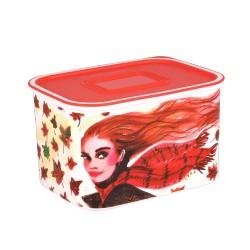 Tupperware Designer Snack Rectangular Container 1.3 L