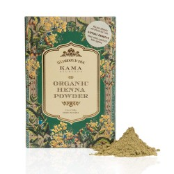 Kama Ayurveda 100% Organic Henna Powder, 100gm