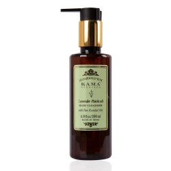 Kama Ayurveda Lavender Patchouli Hair Cleanser (Shampoo) with Pure Essential Oils of Lavender and Patchouli, 200ml