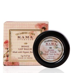 Kama Ayurveda Rose Lip Balm, 5gm