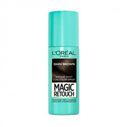 L'Oreal Magic Retouch Instant Root Touch Up, 75 ml, Dark Brown