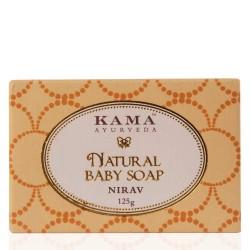 Kama Ayurveda Organic Baby Soap Nirav, 125g