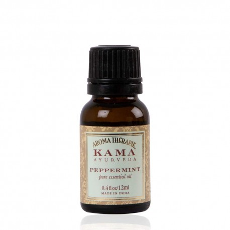Kama Ayurveda Peppermint Pure Essential Oil, 12ml