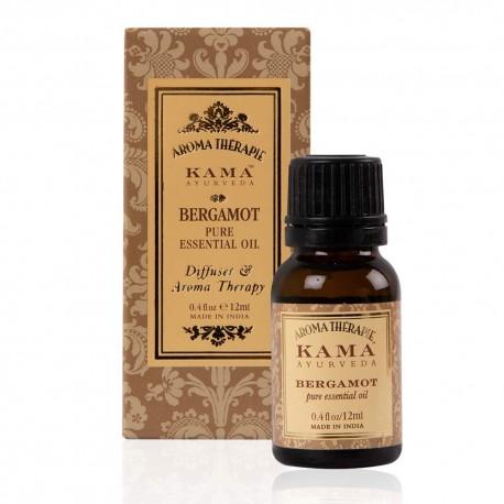 Kama Ayurveda Bergamot Pure Essential Oil, 12ml