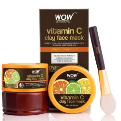 WOW Skin Science Vitamin C Glow Clay Face Mask 200ml