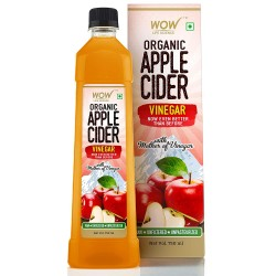 Wow Raw Apple Cider Vinegar - with strand of mother 750ml