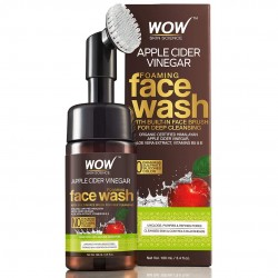 WOW Skin Science Apple Cider Vinegar Foaming Face Wash 100ml