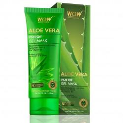 Wow Skin Science Aloe Vera with Hyaluronic Acid & Pro Vitamin B5 Peel Off Gel Mask 100ml