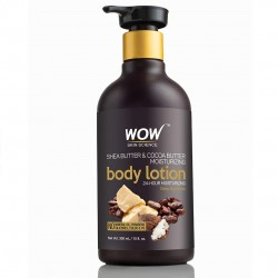 Wow Shea Butter and Cocoa Butter Moisturizing Body Lotion300ml