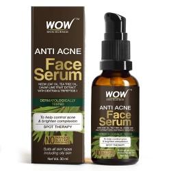 Wow Skin Science Anti Acne Face Serum Natural Neem Leaf Oil 30ml