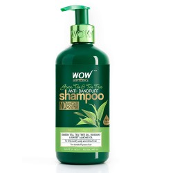 WOW Skin Science Green Tea & Tea Tree Anti-Dandruff Shampoo 300ml