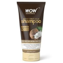 Wow Skin Science Coconut Milk Shampoo, 200 ml