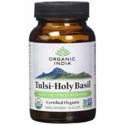 Organic India Tulsi Capsules - Pack of 60