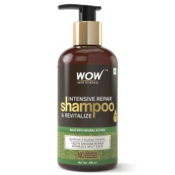 WOW Intensive Repair & Revitalize No Parabens, Sulphate & Silicone Shampoo 300ml