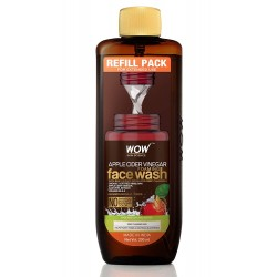 WOW Skin Science Apple Cider Vinegar Foaming Face Wash Refill Pack 200ml