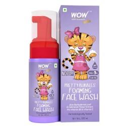 WOW Skin Science Kids Pretty Bubbles Foaming Face Wash 100ml