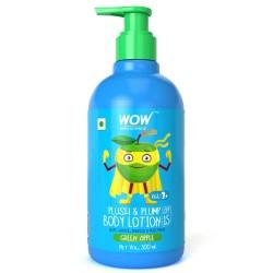 WOW Skin Science Kids Plush & Plump Body Lotion - Green Apple - SPF 15- 300ml