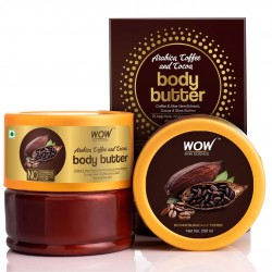 WOW Skin Science Arabica Coffee and Cocoa Body Butter 200ml