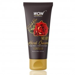 Wow Skin Science English Rose Gentle Hand Cream With Rose Water + Hyaluronic Acid 40ml