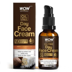 Wow Skin Science Day Face Cream - SPF 20 - with Rosehip Oil & Shea Butter 50ml