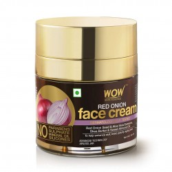 Wow Skin Science Red Onion Face Cream Oil Free Quick Absorbing  All Skin Types 50ml