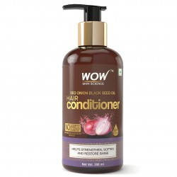WOW Skin Science Red Onion Black Seed Oil Hair Conditioner 300ml