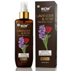 Wow Lavender & Rose No Parabens & Sulphate Skin Mist Toner 200ml