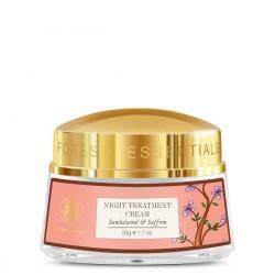 Forest Essentials Sandalwood and Saffron Night Treatment Cream 50g