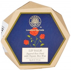 Forest Essentials Luscious Sugared Rose Petal Lip Balm 4gm