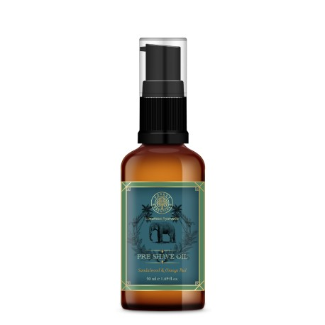 Forest Essentials Pre Shave Oil Sandalwood & Orange Peel 50ml