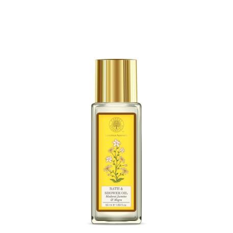 Forest Essentials Travel Size Bath & Shower Oil Jasmine & Mogra 50ml