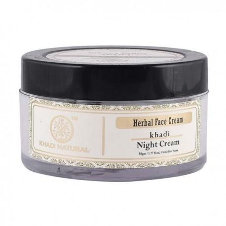 Khadi Natural Herbal Night Cream 50gm