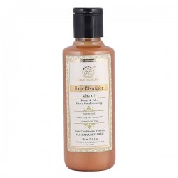 Khadi Natural Herbal Heena Tulsi Extra Hair Conditioning Cleanser 210ml