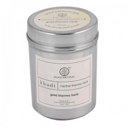 Khadi Natural Gold Thermo Herb (Skin Tightning Face Pack) 100gm