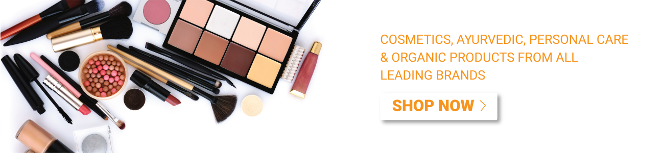 Cosmetics, Ayurvedic, Personal Care & Organic Products From All Leading Brands
